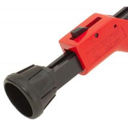Coupe-tube télescopique 140mm à rouleau