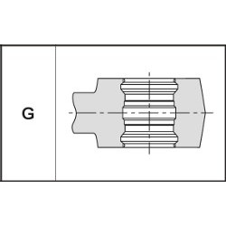 Mâchoire de sertissage type G (GEBERIT - Mepla)
