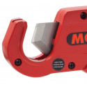 Shear cutter for plastic and multilayer pipes and wires up to 35 mm
