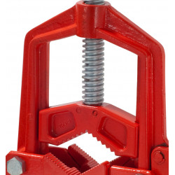 Hinged vice with fast release 3 inch