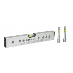 D-Level Interaxial aluminum spirit Level
