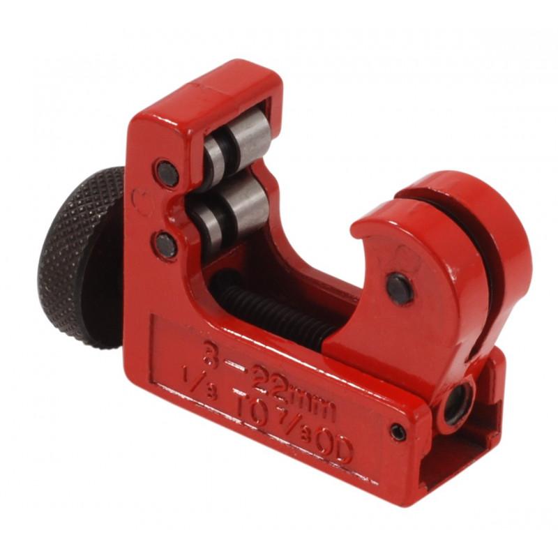 Tagliatubi mini 22 per rame e acciaio da 3 a 22 mm e da 1/8''a 7/8''