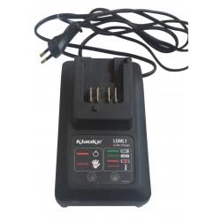 Chargeur de batteries LGML 1 Klauke pour batteries Li-Ion de 10,8 V, 230V
