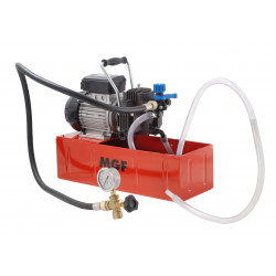 Electric diaphragm test pump up to 20 bar