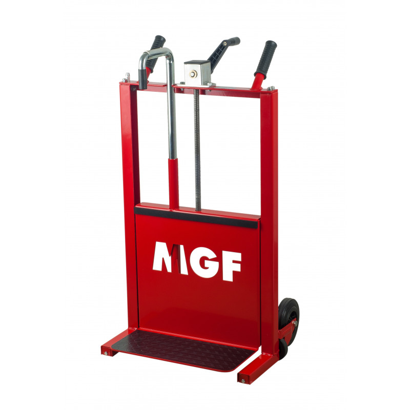 Compact cart for radiators Termolift P