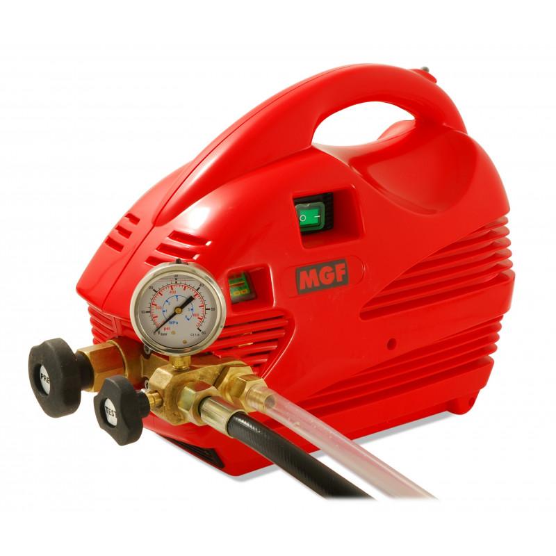 Pompa collaudo impianti a pistone elettrica