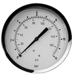 "Manometer 1/8"" 0-12 bar 40 mm"