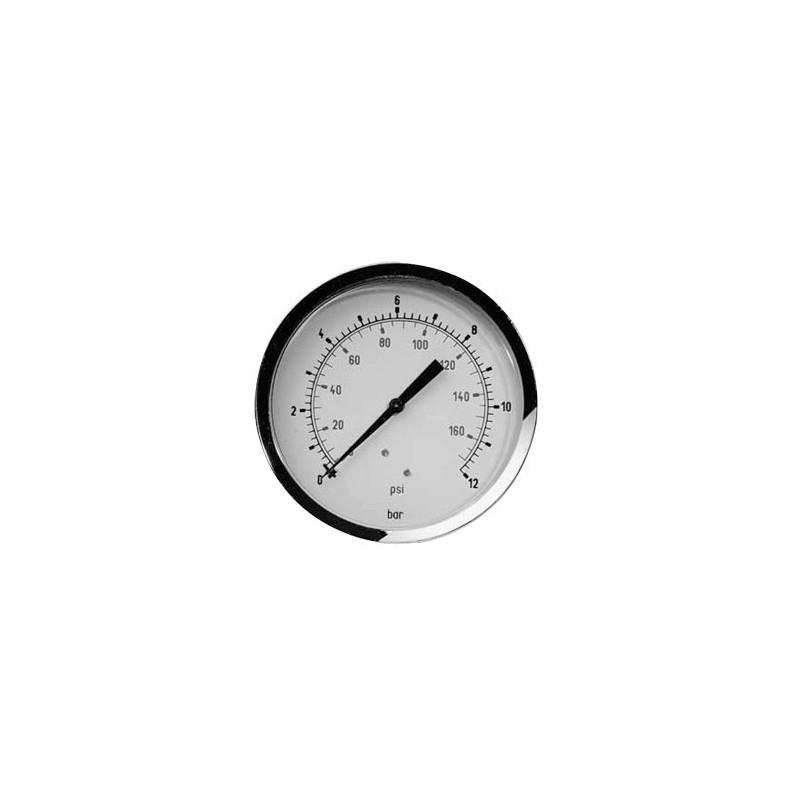 Manomètre 1/8'' Ø40mm 12 bar