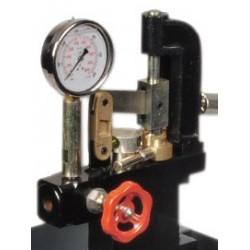 Pompa Collaudo Manuale Alta pressione