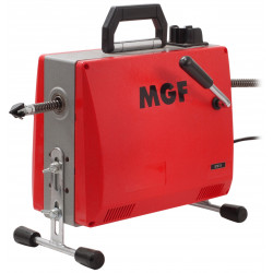Déboucheur électrique à sections de câble MDM 100