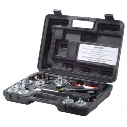 Hydraulic pipe expander and calibration tool