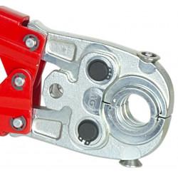 Pinzatrice manuale Portainserti con inserti TH 16-20-26