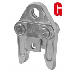 Ganascia Pressatrice Profilo G (GEBERIT - Mepla)