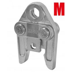 Pressbacke für Presswerkzeug - M Kontur