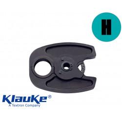 Mâchoire de sertissage pour sertisseuses Klauke model H