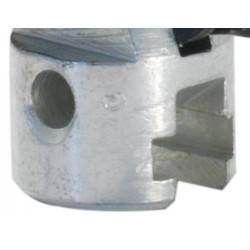 Trivella Doppio Bulbo Ø16mm per Macchiana Disostruente a molla