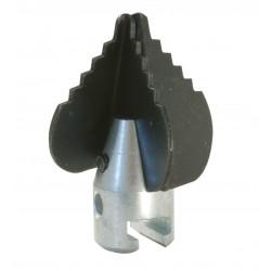 Barrena cruciforme Ø 22mm para Maquina para desatascar