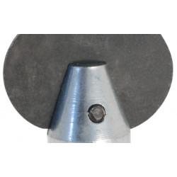 Tête couteau à graisse Ø 22 mm pour Déboucheur à sections de câble