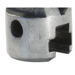 Drain Unclogging Spade Cutter Ø 16 mm for Spring Unclogging Machine