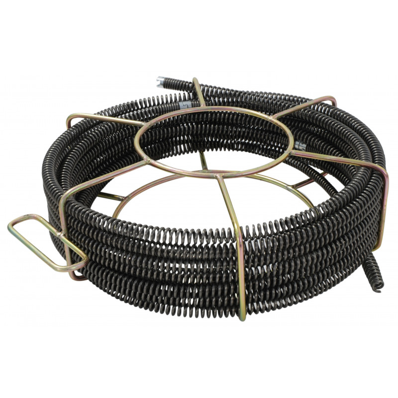 Section de câble 16 mm avec Cage pour Déboucheur à sections de câble