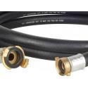 Rohr 3m 10bar 80°C ISO R1307 (schwarz)