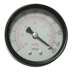 Vacuum gauge axial Stainless Steel Rear 50mm