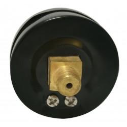 Jauge à vide arrière axial en acier inoxydable 50mm