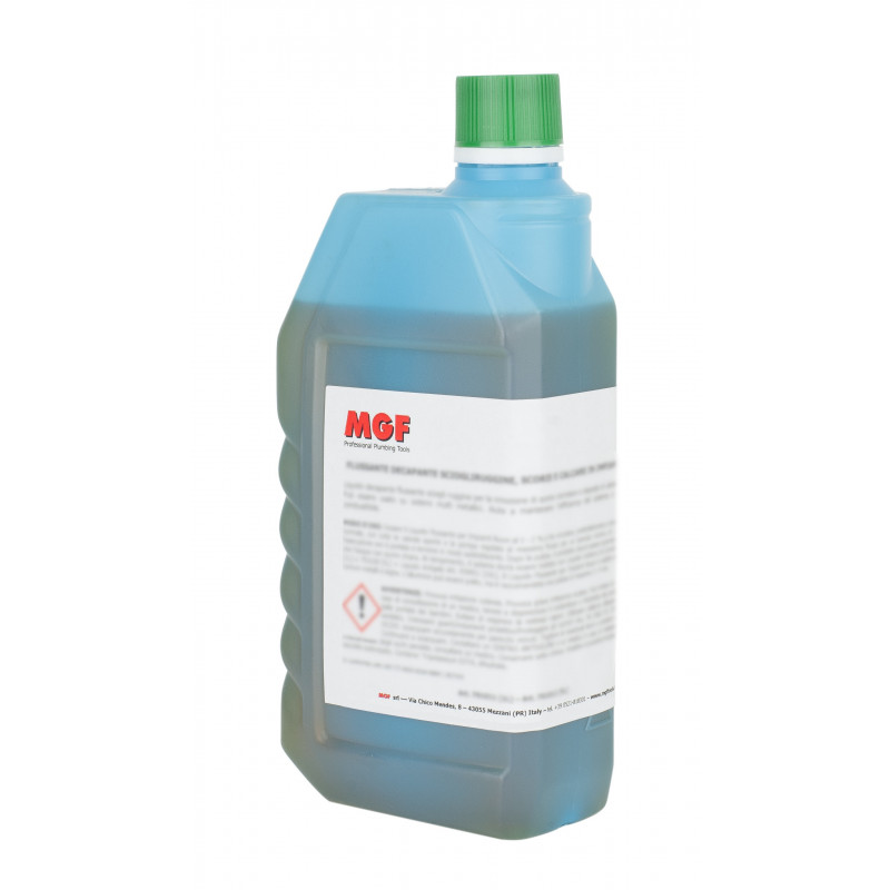 Producto químico para desinfectar las instalaciones de calefacción