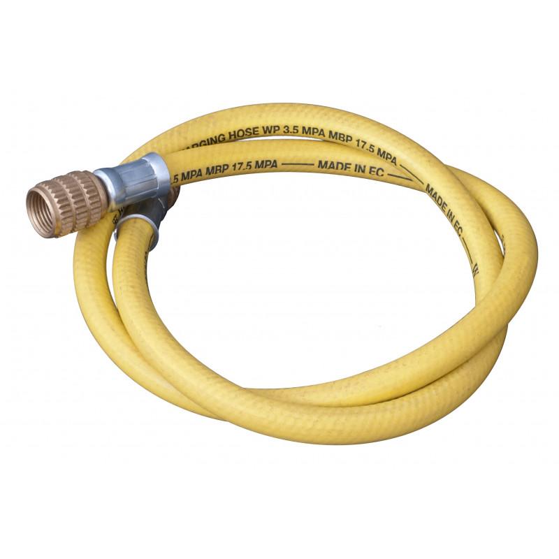 Manguera Tubo de color amarillo, sin depresor ideal para el sector del aire acondicionado