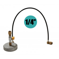 1/4'' Zylinderhalterung