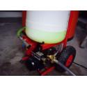 Pompe pour remplissage, rinçage et la purge d'air