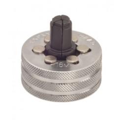 Tête pour Pince à emboîture et Pince à emboîture hydraulique