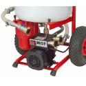 Pompe le rincage des plomberies et chauffages