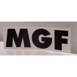 Pièce de rechange autocollant pour Pompe débouchage manuelle MGF