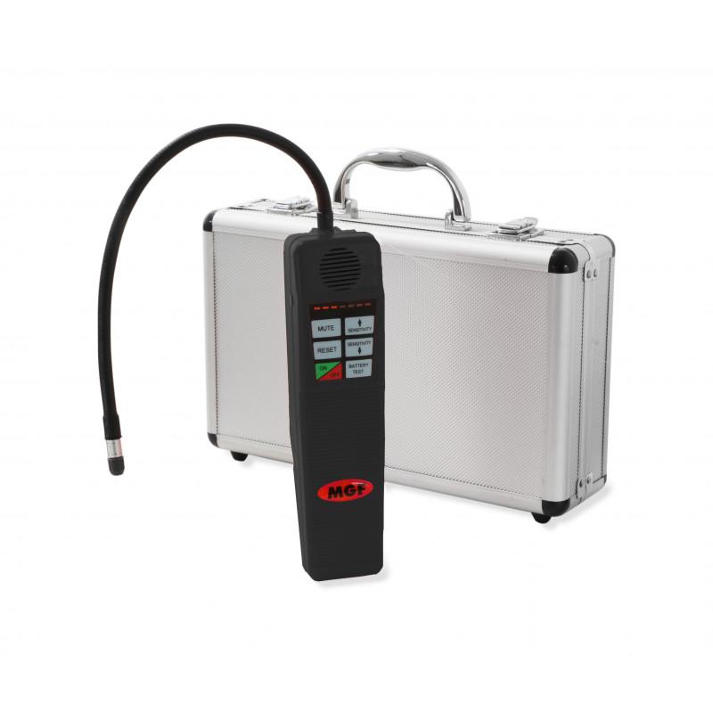 cercafughe gas refrigerante FGAS con effetto corona a polarità negativa