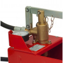 Pressure testing pump made in Italy