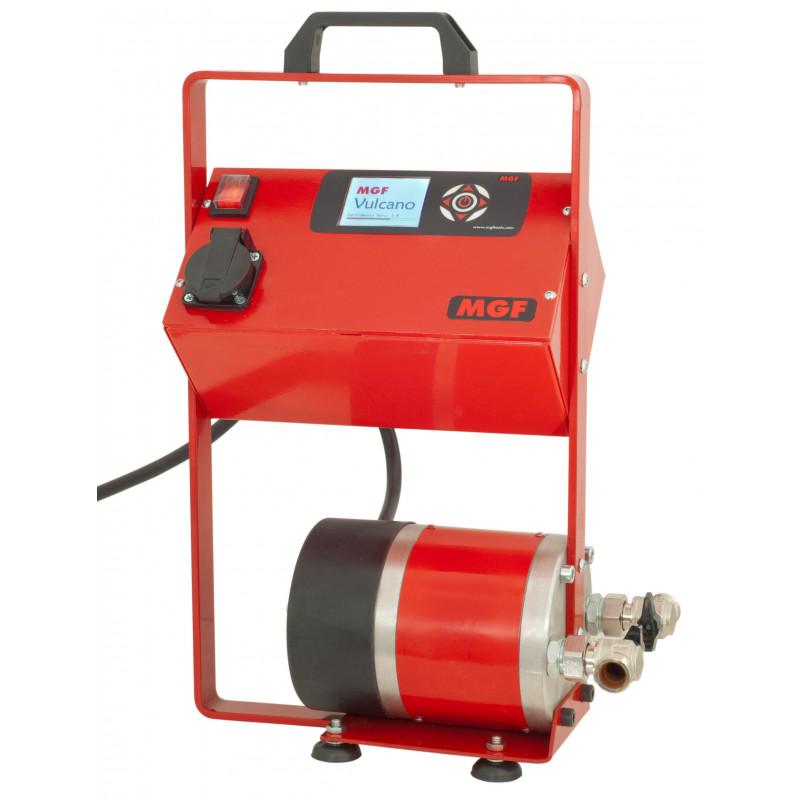 Concrete screeds heating and drying machine - MGF Vulcano