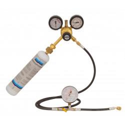 Stickstoff-Set zur Prüfung von HLK-Anlagen