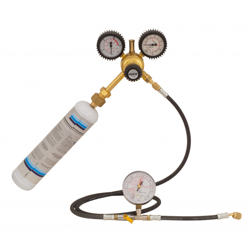 Pressure Testing Kit with Inert Gas