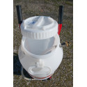 Pump for filling, purging, flushing closed circuits - MGF Solar Express