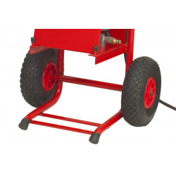 Concrete Screed Drying and testing with Reporting and Pneumatic wheel