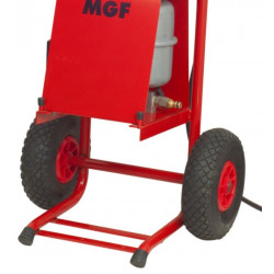 Vulcano POWER 20 KW Kit Concrete Screed Drying and testing