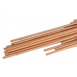 Kupfer 93% + Phosphor 7%. In der Sanitär- und Heizungsinstallation, Klima- und Kältetechnik zugelassen.