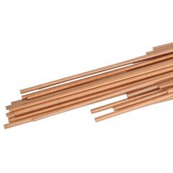 Brazing Rod Copper 93,6% / Phospohrus 6% / Silver 0,4% - 1Kg