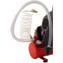 Spül- und Druckprüfeinheit mit Kompressor
