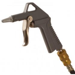 Pistola aria compressa in alluminio con tubo