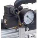 Pompa vuoto monostadio con elettrovalvola e vacuometro