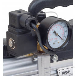 Vacuum Pump for air conditioning with vacuum gauge and solenoid valve