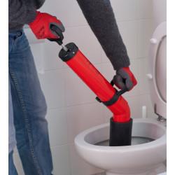 Utensile manuale, rimuove velocemente le ostruzioni dagli scarichi - Pompa disostruente Instality