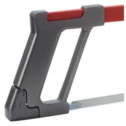 Scie à métaux de qualité, poignée en aluminium léger et durable